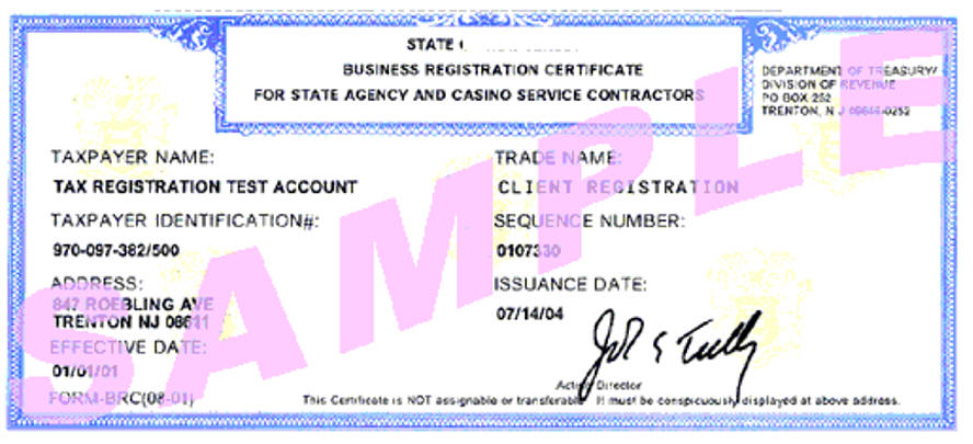 State Sales Tax Resale Certificate Number Application